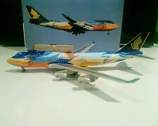 "Dragon Wings 55119 Singapore Airlines ""Tropical"" 1/400 B 747-400 9V-SPL model"