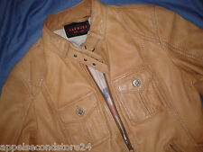 Oakwood Damen Lederjacke Leather Rocker Jacke Biker Punk Gr 38  S
