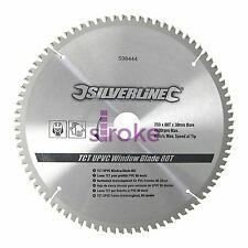Tct Upvc Window Chop Mitre Saw Blade 80T 250 X 30mm Rings 25 20 16 mm Alloy