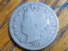 1911 Liberty Nickels (seller's # 730)