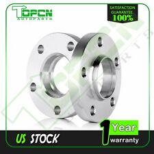2Pcs 25mm 6x4.5 Wheel Spacers Kit With 10 Lug Bolts 12x1.25 Studs For BMW