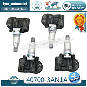 Tire Pressure Sensor 40700-3AN1A 40700-3AN1B TPMS 4PCS For Nissan Leaf Sentra