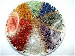 Large Vastu Orgone Chakra Plate Round Clears Home Defects A++ 10 inch round