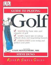 KISS Guide to Golf (Keep it Simple Guides), Duno, Steve, Used; Good Book