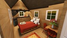 Tiny House on Wheels Plans CD