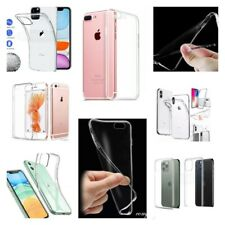 CLEAR GEL CASES FOR ALL IPHONES 6/7/8/11 PRO MAX/X/XS MAX/SE 2020