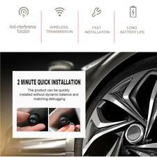 4pcs Wireless Bluetooth Tire Pressure Monitoring System External Sensor KV