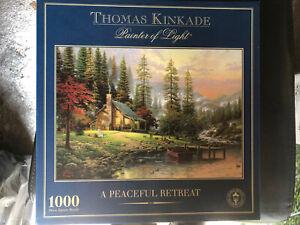 thomas kinkade jigsaw puzzles 1000