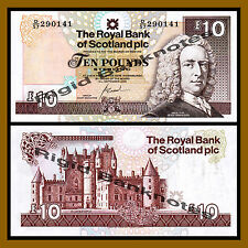 Scotland 10 Pounds, 2006 P-353b Unc