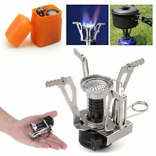 Ultralight Portable Outdoor Picnic Backpacking Camping Stoves Butane Gas Burner