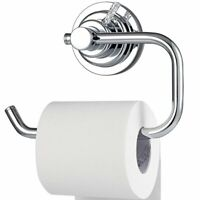 Vacuum Suction Cup Toilet Paper Roll Holder Wall Mount for Bathroom Kitchen