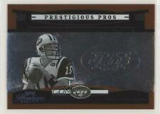 2005 Playoff Prestige Prestigious Pros Orange /500 Chad Pennington #PP-8