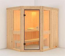 Karibu Sauna Amelia 1 68mm ohne Ofen classic Tür