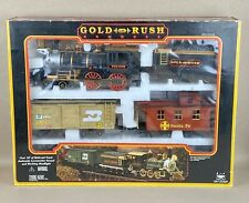 GOLD RUSH EXPRESS Train Set (1996) Vintage Over 18 ft. Of Track! New Open Box