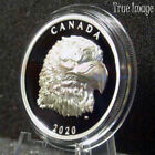 2020 Proud Bald Eagle - $25 EHR Extra High Relief Head Proof Silver Coin Canada
