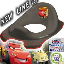 DISNEY Baby Toilet Seat Child Toddler Trainer Training Cars NEW