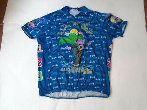 Pearl Izumi Sesame Street PI Originals Cycling Jersey X-Large Count von Count