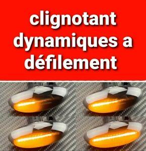 Clignotants LED DYNAMIQUE Peugeot 307 Cc 206 Cc 107 / Citroën C2 C3 VOIR LISTE