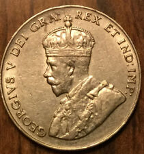 1923 CANADA 5 CENTS - Superb example!