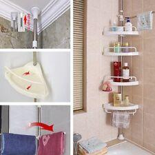 4-Tier Bathroom Kitchen Bathtub Shower Caddy Holder Shelf Corner Rack Organizer