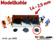 Spur G - Modellkohle Kohle Ladegut 1,4-2,5mm gsc_50002 Zip-Beutel ca. 250-260gr.