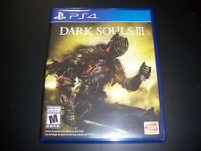 Replacement Case (NO GAME) Dark Souls III 3 PlayStation 4 PS4 100% Original Box