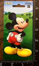 MICKEY MOUSE STICKER BY DISNEY - TWO JUMBO BEAUTIFUL STICKERS  #MICKEY44