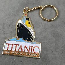 Titanic The Artifact Exhibit Souvenir Keychain Keyring