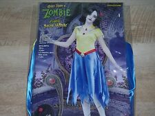 Once Upon a Zombie Snow White Princess Dress Halloween Child Girls Costume