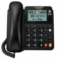 AT&T CL2940 Landline Corded Phone Desk Wall Telephone Large Display NEW