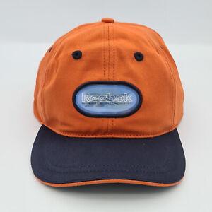 Reebok Junior 3D Logo Strap Back Adjustable Cap - Orange
