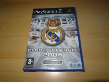 REAL MADRID CLUB FOOTBALL 2005 PS2 (Playstation 2) - Nouveau SCELLÉ PAL VERSION