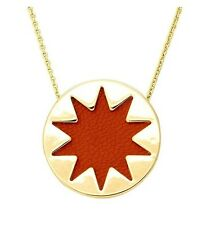 House of Harlow 1960 N002105TM Gold Chain Sunburst Pendant Statement Necklace