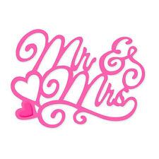 Sweet Dixie Mr & Mrs die SDD206`