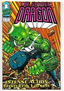 The Savage Dragon #1 Image Comics 1992 VF+