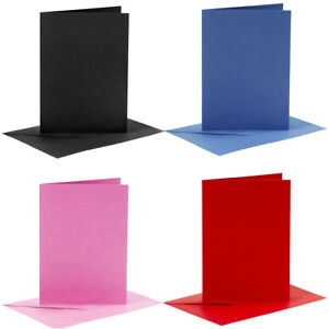 A6 Cards and Envelopes Sets Blanks For Art And Craft 230gsm Card Paper