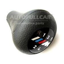 para BMW M X POMO PALANCA CAMBIO PERILLA 6 VELOCIDADES CUERO MARCHAS 25117566267