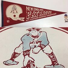 1978 Boston New England Patriots NFL Football Pennant 12x30 AFC Championship