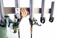 T-Rex Tough Fishing Rod Pole Rest Racks Holder/5 RODS, Boat, Truck, RV, Storage.