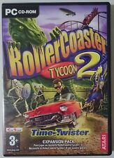 ROLLERCOASTER TYCOON 2 TIME TWISTER EXPANSION PACK PER PC ESPANSIONE PER RCT 2