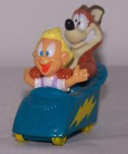 Vintage Animaniacs 1993 Warner Bros McDonalds Mindy & Button Wild Ride Coaster