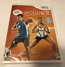 Active 2 Personal Trainer Video Game Wii Nintendo EA Sports, New-Sealed