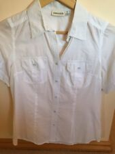 Sussan Button Down Shirt Casual 100% Cotton Tops & Blouses for Women