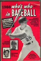 Who's Who in Baseball 1988 MARK MCGWIRE ANDRE DAWSON GEORGE BELL PC