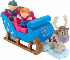 Fisher Price Little People Disney Frozen Kristoff's Sleigh & Figures Playset