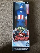 "Marvel-Titan Hero Series-Avengers- 'Captain America' 10"" action figure- unopened"