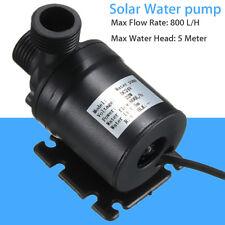 IP68 DC12-24V Hot Water Circulation Pump Solar Water Brushless Motor 800L/H 5M