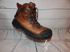 Red Wing Boots ASTM F2413-11 Steel Toe Leather Boots Waterproof  2436 Size 10 E