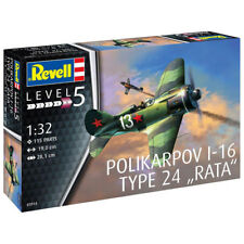 "REVELL Polikarpov I-16 type 24 ""Rata"" 1:32 Aircraft Model Kit 03914"