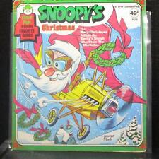 "Unknown Artist - Snoopy's Christmas EP 7"" VG+ Vinyl 45 Peter Pan X-56 USA"